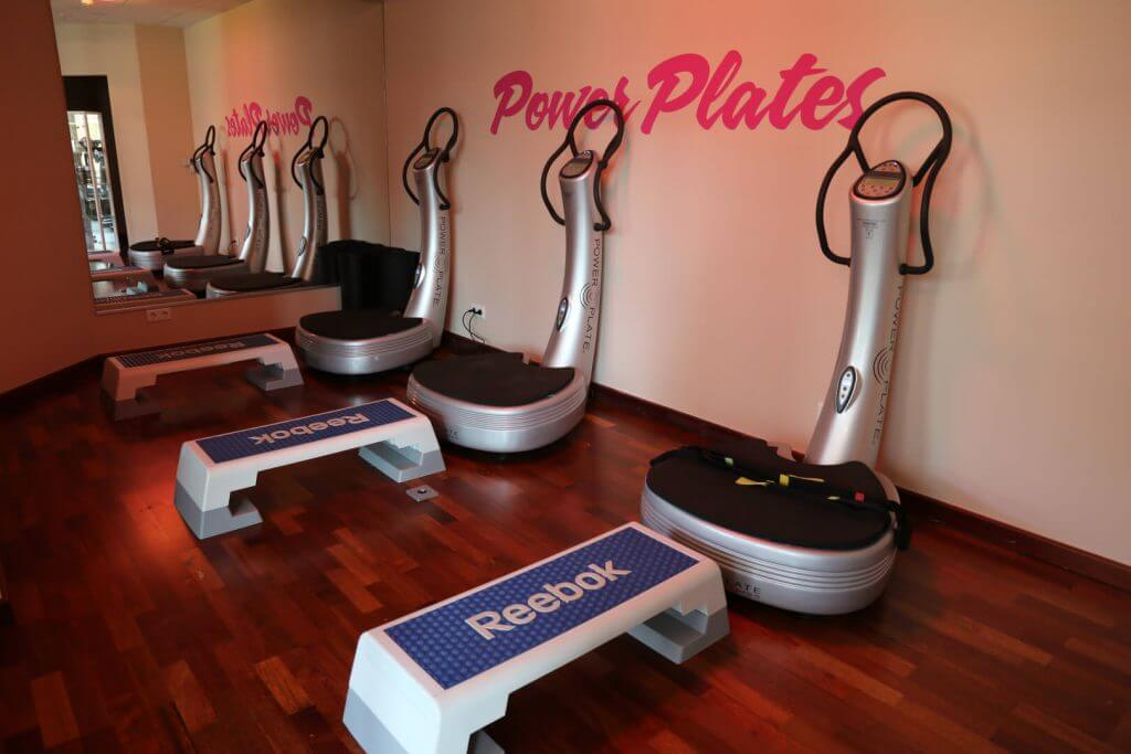 Power Plate Room