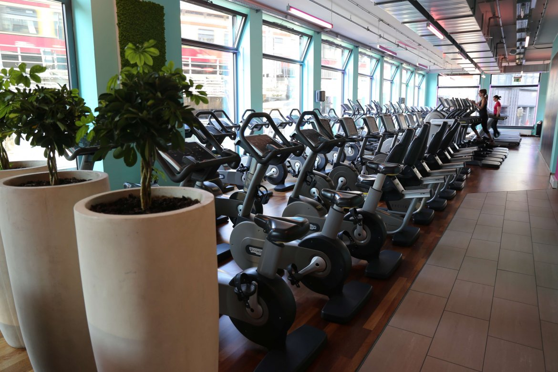 Cardio Training Area